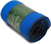 #DoYourYoga - Yogahanddoek - »Chandra« - met siliconen noppen & anti-slip - 183 x 62 cm - lichtblauw