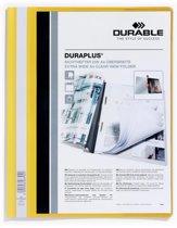 43x Durable personaliseerbare snelhechtmap Duraplus geel