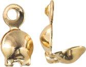 Kalotje (4 mm) Goud (25 Stuks)