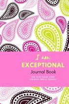 I Am Exceptional Journal Book
