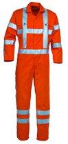 Havep overall EN471 maat 48 RWS 2400 fluor-oranje