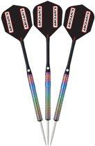 abcdarts - dartpijlen professioneel 90% originals rainbow 2901 - 23 gram