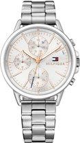 Tommy Hilfiger TH1781787 horloge dames - zilver - edelstaal