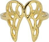 ARLIZI 1681 Ring Vleugel - Dames - 925 Sterling Zilver Verguld