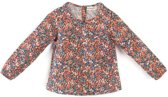 Milou & Pilou Whiltshire Blouse Liberty Print Red Floral-4 j