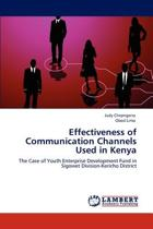 Effectiveness of Communication Channels Used in Kenya