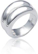 Classics&More - Zilveren Ring Glanzend