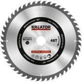 Kreator KRT020425 Zaagblad hout 250 mm - 48T