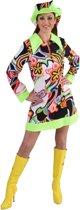 Hippie Kostuum | Jaren 60 Brigitte | Vrouw | Large | Carnaval kostuum | Verkleedkleding