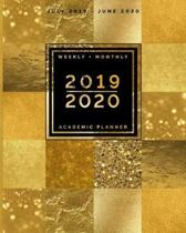 July 2019 - June 2020 Weekly + Monthly Academic Planner 2019 - 2020