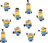 Minion 3D Puzzle Eraser 10pk In Window Box
