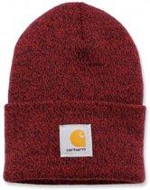 Carhartt Muts Acrylic Watch Hat rood - Beanie