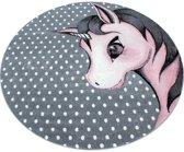 Vloerkleed Kinderkamer - Unicorn - Roze