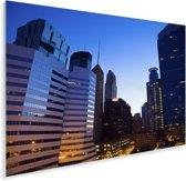 Minneapolis bij een zonsopgang Plexiglas 120x80 cm - Foto print op Glas (Plexiglas wanddecoratie)