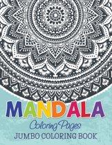 Mandala Coloring Pages (Jumbo Coloring Book)