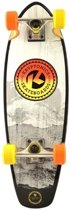 Kryptonics Skateboard Fade Gray 68 Cm