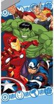 Marvel Avengers strandlaken/badlaken voor jongens - Zwemhanddoeken/strandlakens/badlakens/handoeken voor kinderen