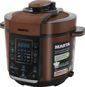 MARTA MT-4312E (Black/Copper) Multicooker/Pressure cooker