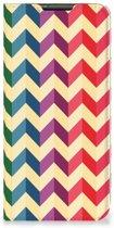Nokia 6.2 | 7.2 Hoesje met Magneet Zigzag Color