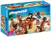 Playmobil Piratenbende met Schat - 4292
