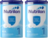 Nutrilon HA 1 - Flesvoeding - 2 x 750 gram