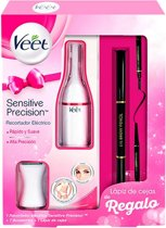 Veet Sensitive Precision Elektrische Trimmer met 7 Accessoires en Wenkbrauwpotlood