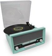 Platenspeler - Fenton RP135 - Platenspeler met Bluetooth, USB (mp3) en CD speler in 60's stijl