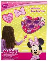 Minnie Mouse Spel Bonenzakjes Gooien met Opblaasbaar Doel – 28cm   Buiten Spelen   Doeltje Gooien Spel voor in de Tuin