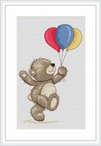Luca S Borduurpakket Bruno Bear with Balloons B1097