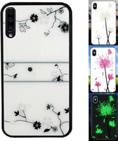 BackCover Magic Glass voor Samsung A70 Roos
