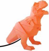 House of Disaster dinosaurus lamp oranje Lamp dinosaurus