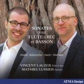 Vivaldi, Boismortier, Fasch, Telemann: Sonatas pour flûte à bec et Basson