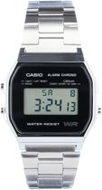 Casio Collection A158WEA-1EF - Horloge - Staal - Zilverkleurig - Ø 33.2 mm