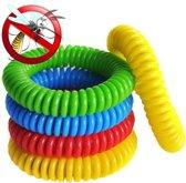 5 STUKS FAMILYPACK- Anti Muggen Armband - Voor Kinderen en Volwassenen – Natuurlijk en Zonder Deet