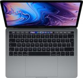 Apple MacBook Pro (2019) Touch Bar MV962N/A - 13.3 Inch - 256 GB / Spacegrijs