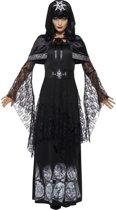 Zwarte magie minnares kostuum | Verkleedkleding dames maat M (40-42)