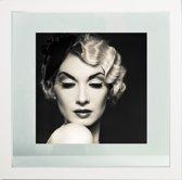Henzo Piano Fotolijst - Fotomaat 30x30 cm - Wit