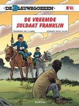 De Blauwbloezen 61. De vreemde soldaat Franklin