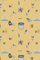 Patriotic Pattern United States of America 92