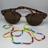 Zonnebrilkoord - Madelief regenboog