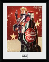 Gb Eye Poster In Lijst Fallout 4 Nuka Cola 30 X 40 Cm