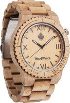 WoodWatch | Wootch Esdoornhout | Houten unisex horloge
