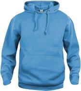 Clique Basic hoody Turquoise maat XXL
