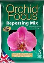 Orchid Focus Repotting Mix - 3 liter geselecteerde schors voor de beste resultaten van uw orchideeën