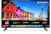 NIKKEI NH3214 - 32 inch HD LED TV met een satelliet ontvanger