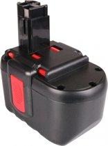 Accu 2607335509, 2607335510: Bosch - 24V, 3000 mAh / 3.0Ah: Ni-Mh - ToolBattery Huismerk TA6099