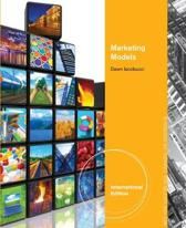 Marketing Models, International Edition