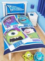Disney Dekbedovertrek Monsters University - Eenpersoons - 135x200 cm - Multi