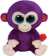 TY Beanie Boo's Grapes - paarse aap 15 cm