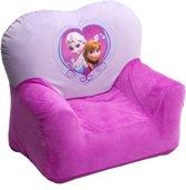 Disney Frozen stoel met stof in het paars/roze